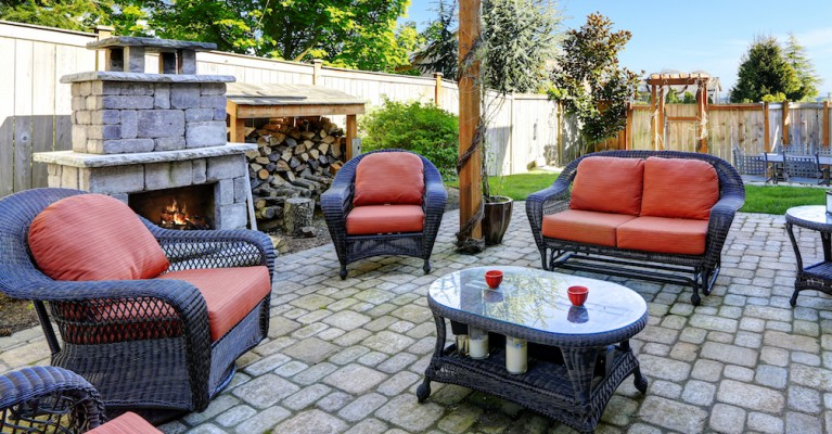 Backyard Patio Set