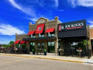 Joe Kool's Commercial Awning Installation