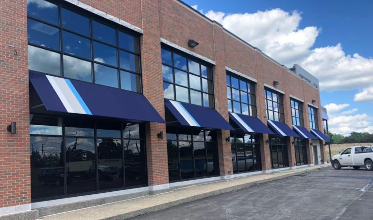 Commercial Retail Awnings