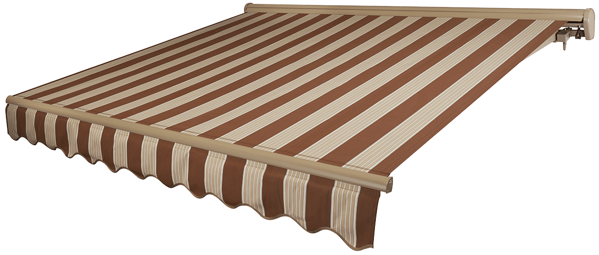 Desert Sand Awning with Beige Frame