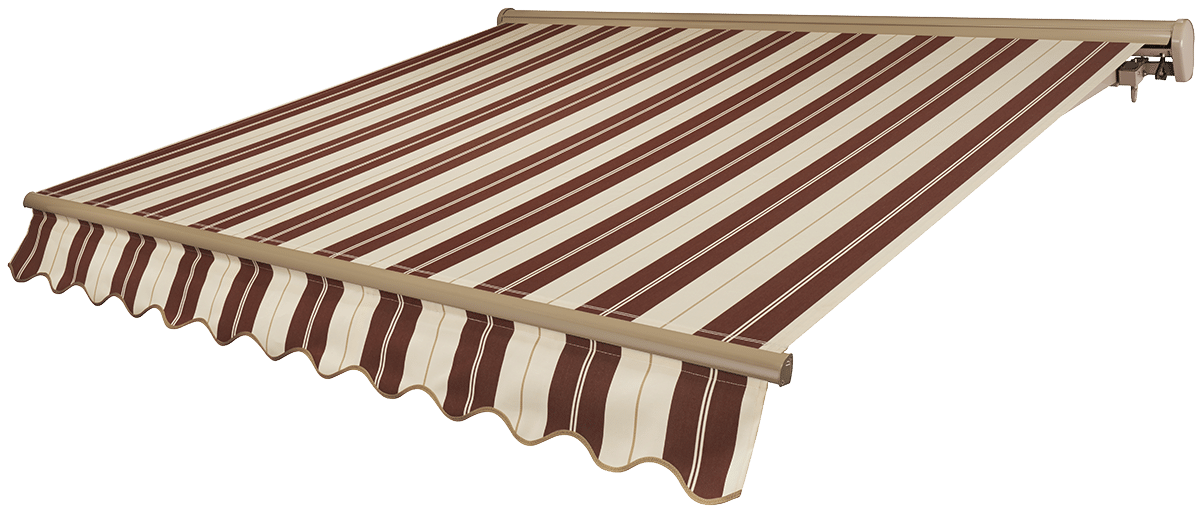 Cabernet Awning with Beige Frame