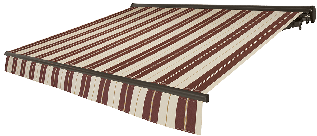 Cabernet Awning with Bronze Frame