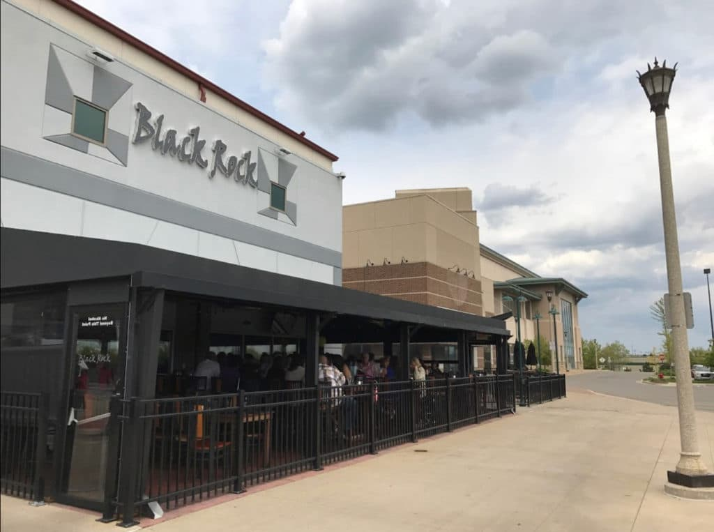 Commercial awning companies - restaurant awning - Black Rock - Marygrove Awnings