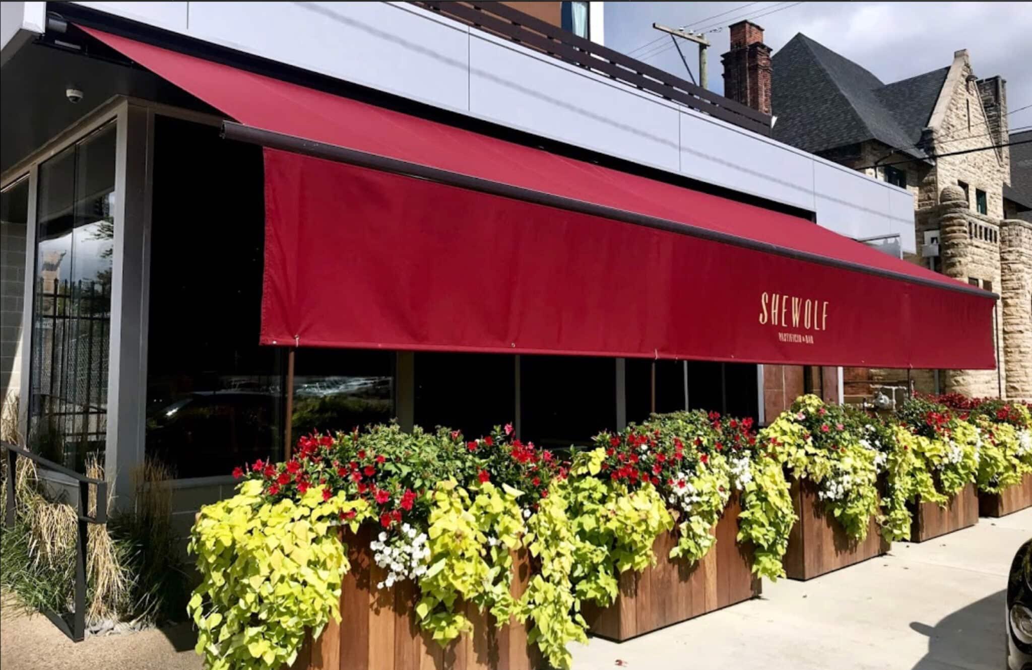 Restaurant Storefront Awning
