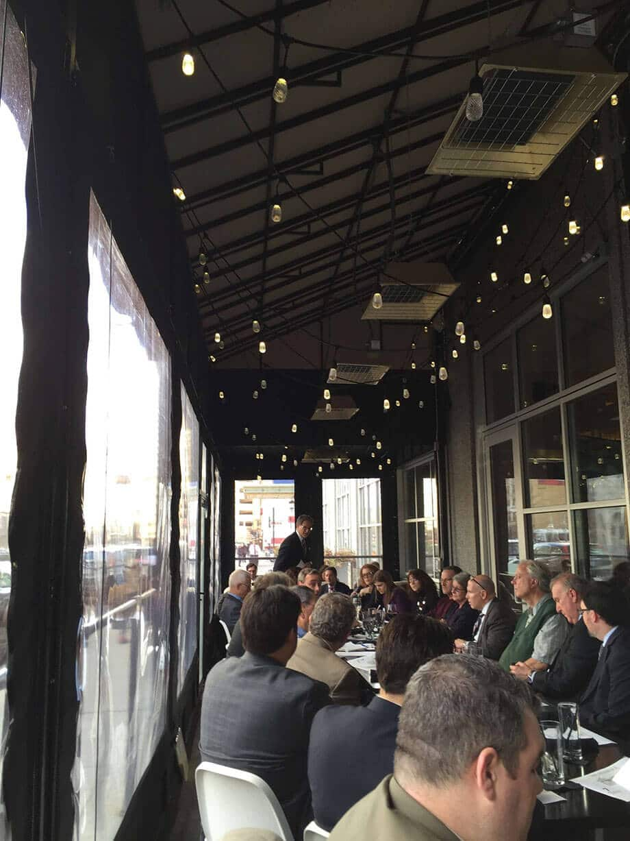 Restaurant awnings - expanded seating capacity - Marygrove Awnings