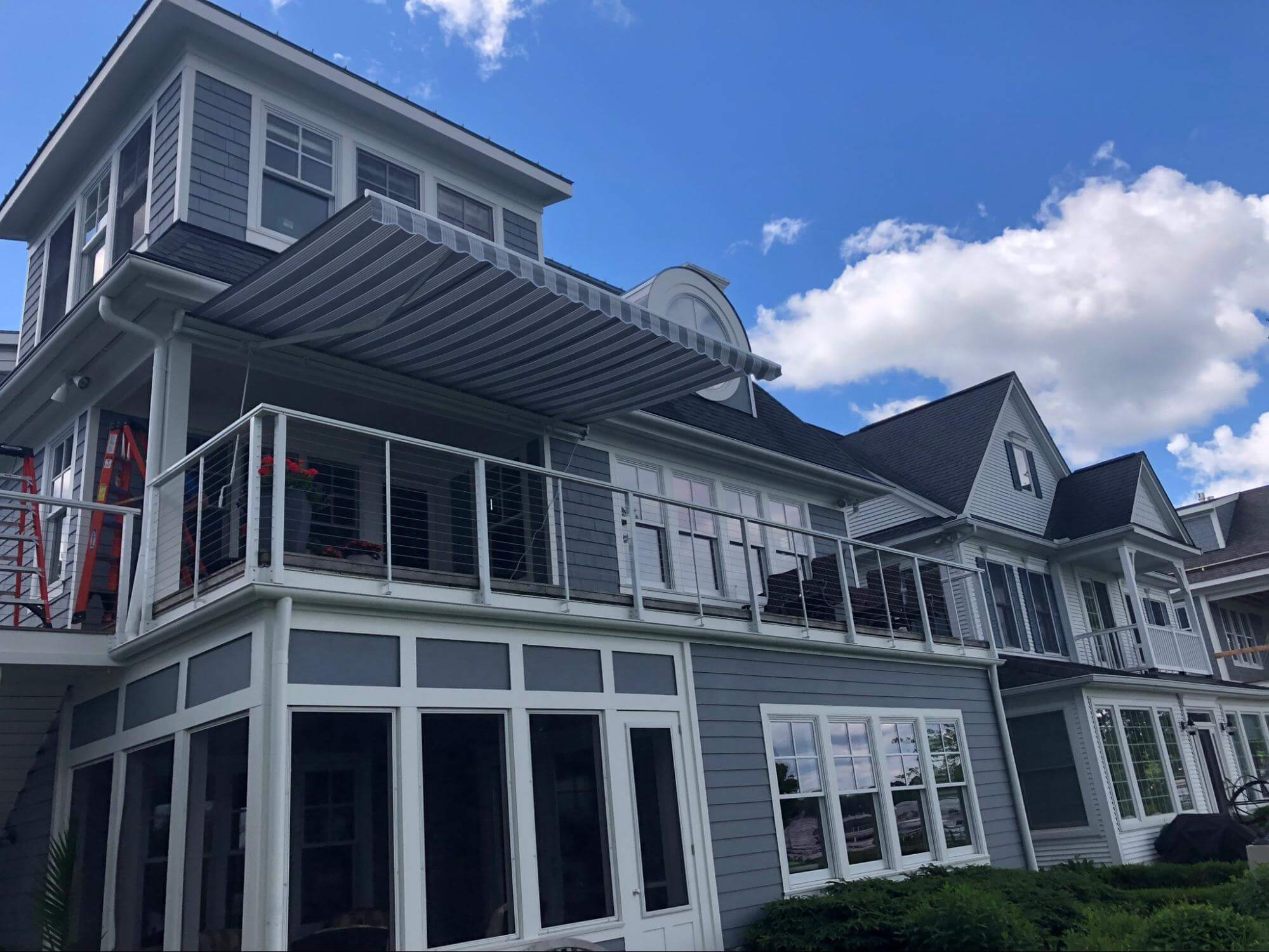 choosing the right retractable awning fabric - Marygrove Awnings