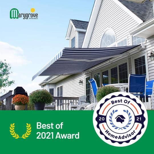 Best of 2021 HomeAdvisor Award